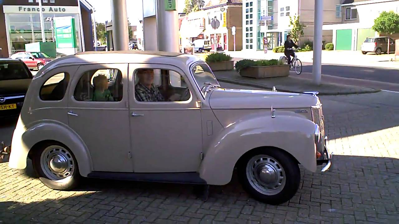 1953 ford prefect rhd start sounds youtube