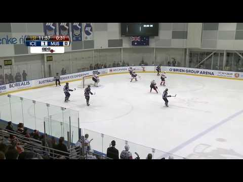 AIHL Live Game 70: Melbourne Mustangs v Melbourne Ice