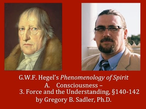 Half Hour Hegel: The Complete Phenomenology of Spirit (Force and the Understanding, sec. 140-142)
