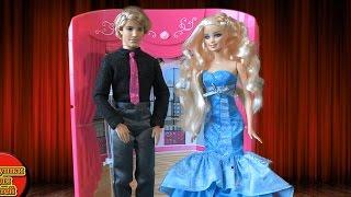 Кукла Барби Мультфильм Куклами Победа Барби Конкурс красоты Вечерние платья Видео для девочек