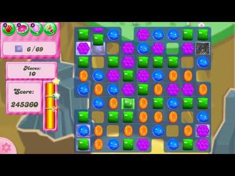 Candy Crush Saga Level 2906 NO BOOSTERS (second version)