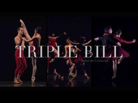 Promo Triple Bill Program - Ballet de Catalunya