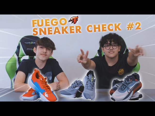 Changes sent us more sneakers and we reviewed them! (Fuego Sneaker Check Ep. 2)