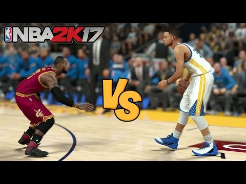 What if LeBron James and Steph Curry SWITCHED HEIGHTS!? - NBA 2K17