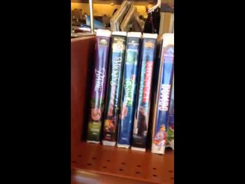 vhs section at my goodwill in ballantyne youtube