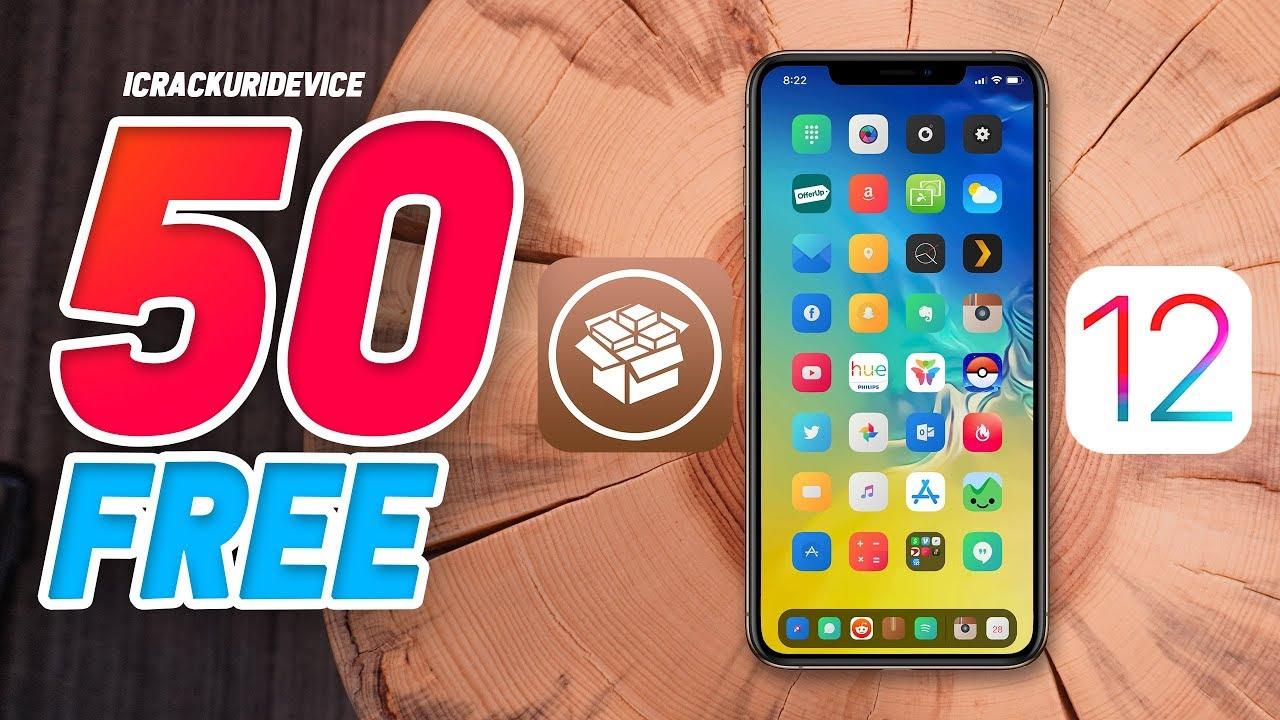 Top 100 FREE iOS 12 Cydia Tweaks for Unc0ver Jailbreak iOS 12 1 2