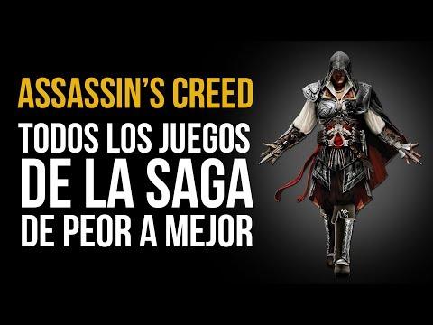 Assassin's Creed: TOP de los juegos de la SAGA, de PEOR a MEJOR