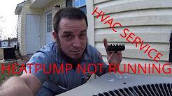 HVAC Service: Heatpump Not Running