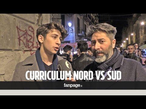 Il curriculum dei giovani: Nord vs Sud