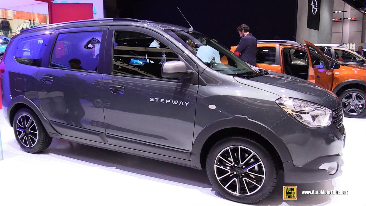 2017 dacia lodgy stepway exterior and interior walkaround 2017 geneva motor show youtube. Black Bedroom Furniture Sets. Home Design Ideas