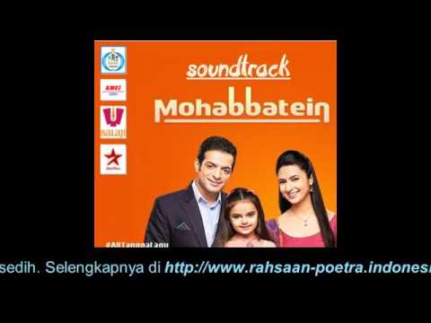 PAMELA JAIN   PAL PAL BADE YE HAI MOHABBATEIN OST MOHABBATEIN ANTV FULL   MP3 Download STAFA Band