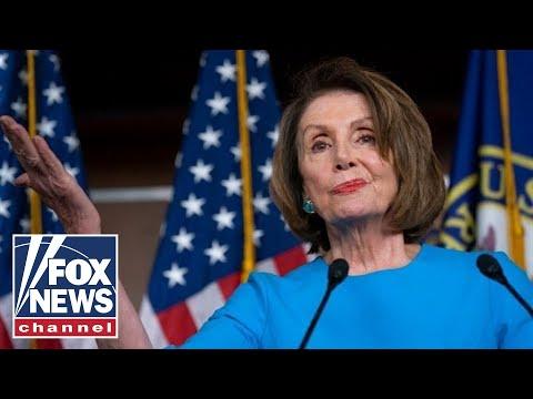 Pelosi blasts Trump at press conference amid escalating feud