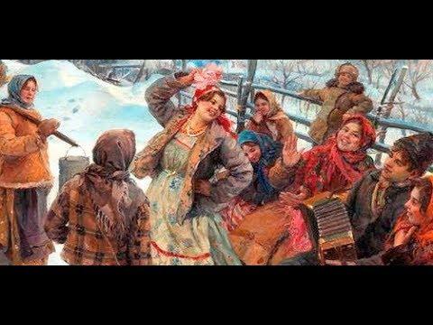 Частушки из фильма Морозко (Humorous Russian Folk Song, Couplets drolatiques)