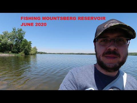 Fishing Mountsberg Reservoir June 2020