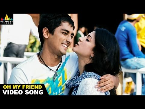 Oh My Friend Video Songs | Oh Oh My Friend Video Song | Siddharth, Shruti Hassan | Sri Balaji Video