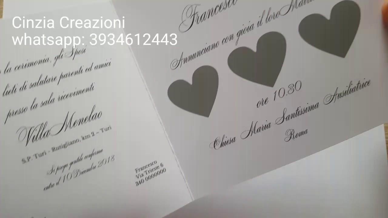 Segnaposto Matrimonio Gratta E Vinci.Partecipazione Matrimonio 2019 Cuori Gratta E Vinci Youtube
