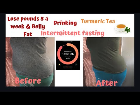 lose-5-pounds-a-week-with-intermittent-fasting-|turmeric-tea