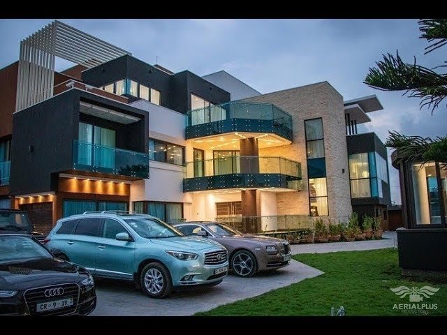 Check out Kwame Despite's renovated 20-year-old mansion - YouTube