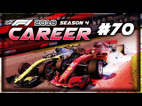 DRS FAILURE! IT WAS STUCK OPEN!!! - F1 2018 Career Mode Part 70