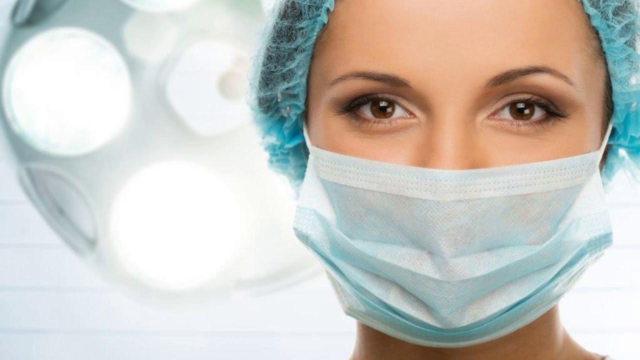 Как правильно носить медицинскую маску с синей стороной ...
