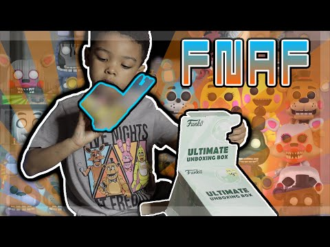 FUNKO ULTIMATE UNBOXING BOX FNAF EDITION EXCLUSIVE POP!