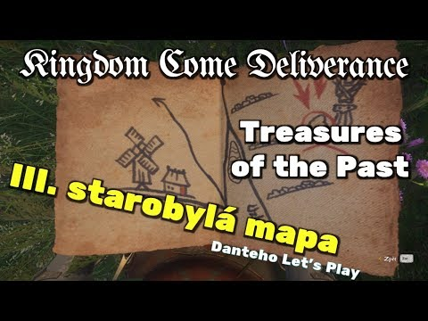 Kingdom Come Deliverance - Treasures of the Past - 3. mapa | DLC CZ (PC) - Danteho Let's Play |