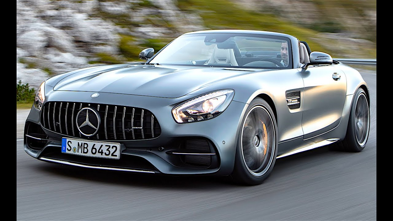 Mercedes Amg Gt C Roadster 2017 Commercial Official New