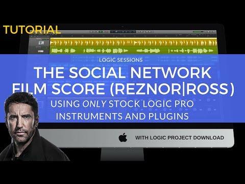 Logic Pro Tutorial: In Motion (The Social Network) | Trent Reznor & Atticus Ross | Film Scoring