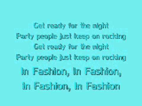 Black Eyed Peas Fashion Beats Lyrics