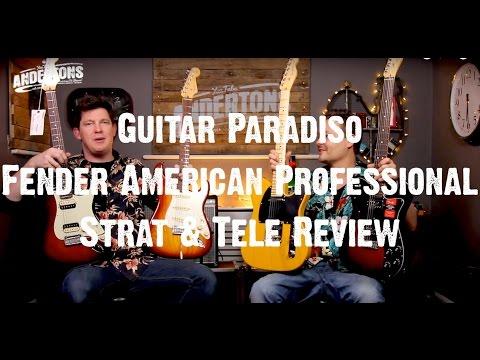 Guitar Paradiso - Fender American Professional Strat & Tele Review