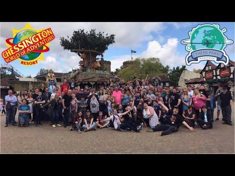 Theme Park Worldwide Chessington Event Vlog August 2017