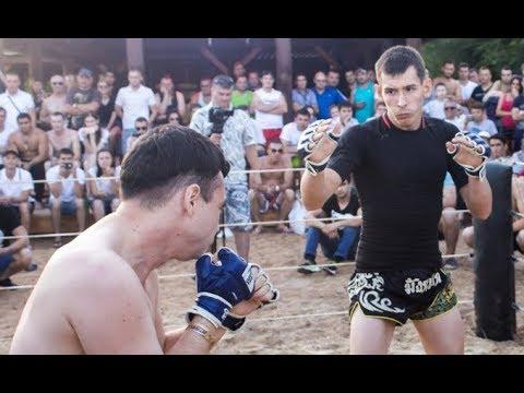Каратист против Чемпиона ММА