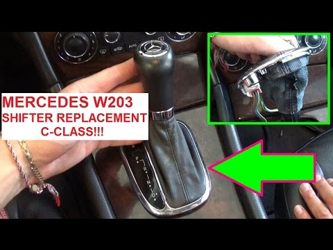 Mercedes Benz C Shifter Parts