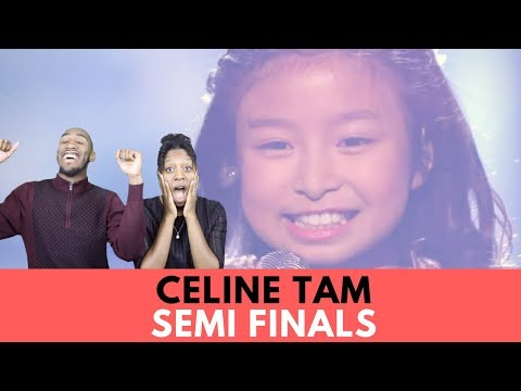 "Celine Tam: 9-Year-Old Stuns The Audience With ""How Far I'll Go"" - AGT 2017 Reaction"