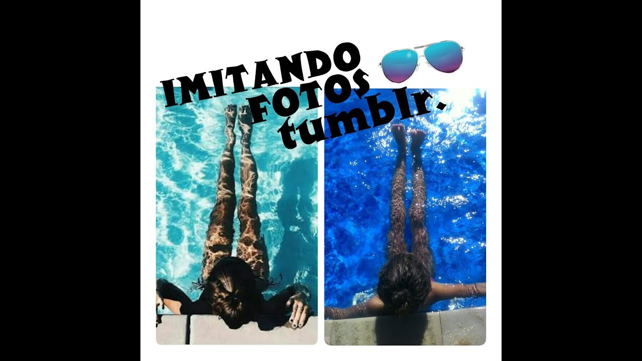 Imitando fotos tumblr na piscina coisas de meninas com for Imajenes de pisinas