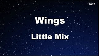 Wings - Little Mix Karaoke 【No Guide Melody】 Instrumental