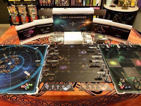 Fleet Commander Kickstarter Rewards Unboxing
