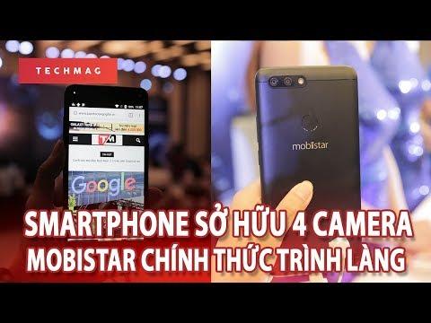 """Smartphone """"màn hình vô cực 4 camera"""" đầu tiên của Mobiistar"""