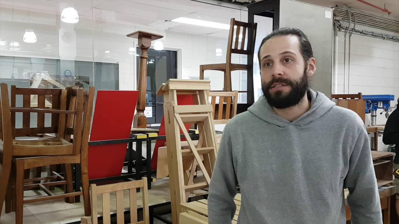 Jules - Apprentice Cabinet Maker - YouTube