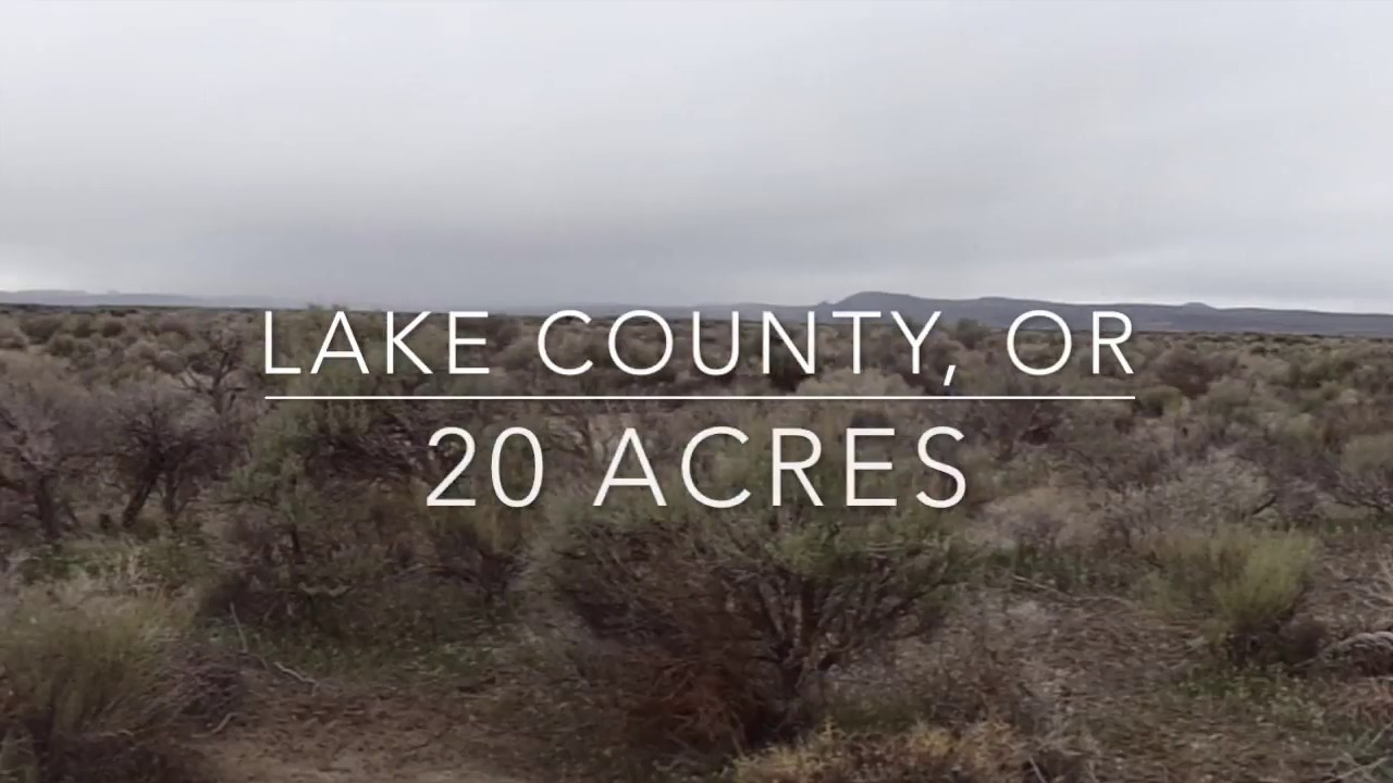 20 Acres of Land in Lake County, OR! Owner will Finance! No Credit Check!