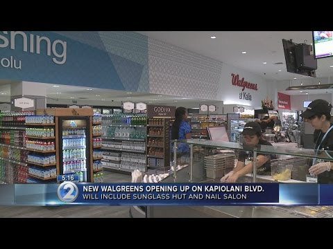 Walgreens opens two-story flagship store in Honolulu
