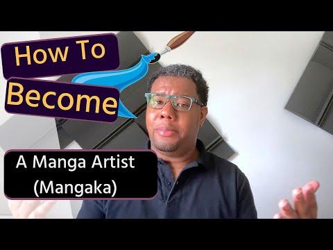 How To Become A Manga Artist (Mangaka)