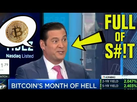 Idiot News Man KNOWS NOTHING About Bitcoin