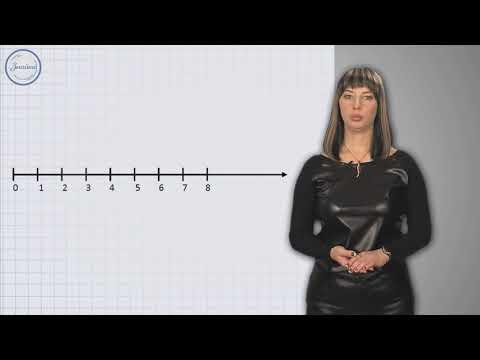 Видеоурок числовой луч