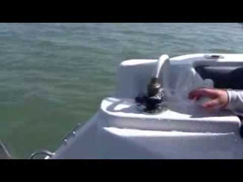 Haines Hunter 680 Patriot - New. Saltwater deck wash fitting leaking.