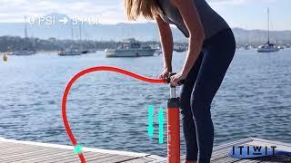 eabe25ea7 Como utilizar a bomba de Stand Up Paddle Itiwit
