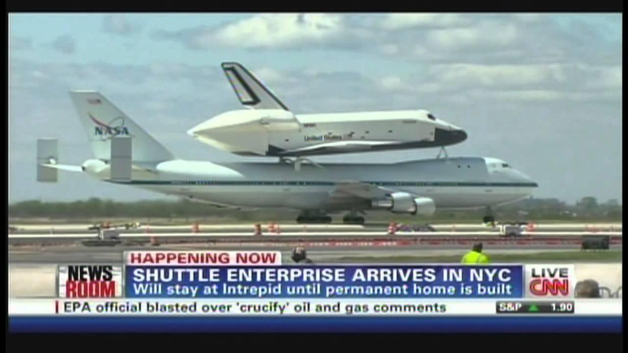 space shuttle enterprise landing - photo #19