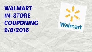 Come Walmart Couponing With Me! Walmart In-Store Couponing