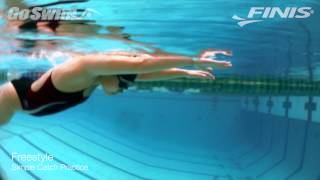 Here's a simple drill to help with the freestyle catch... with the ...