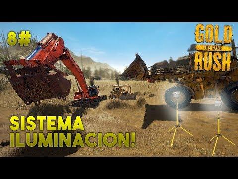 Gold Rush: The Game - Sistema de Iluminación! #8 - Gameplay Español